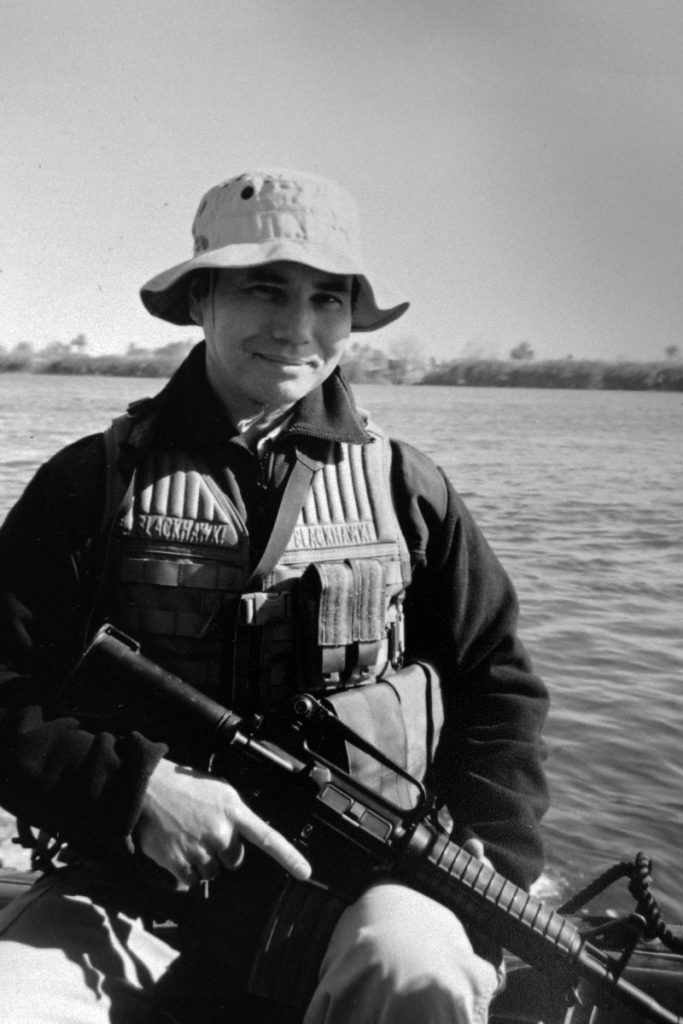 J Almon Polk - In Iraq